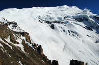 Yazghil Sar from base camp