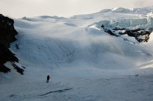 Climb to Yazghil Sar's High Camp