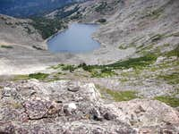 Above Lost Wilderness Lake