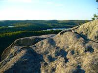 Mic Mac Lake from Mount Trudee