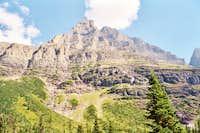 Mount Merritt from Mokowanis Lake