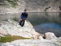 Me at Lost Wilderness Lake