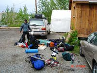 Denali Gear at Talkeetna