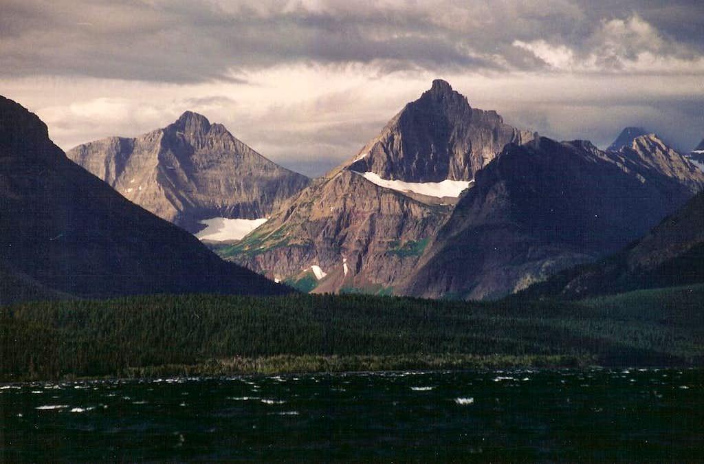 Norris Mountain and Split Mountain