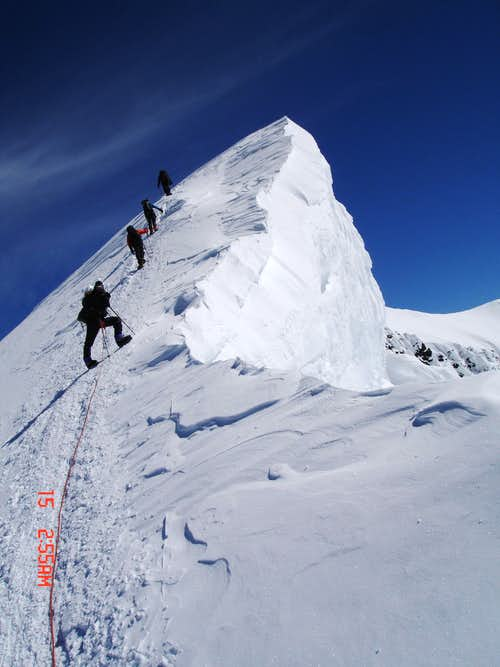 Summit Ridge of Denali