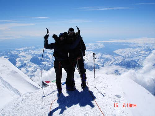 Brothers Almighty on Denali