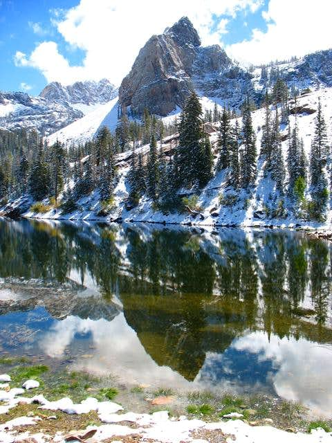 Sundial Peak reflection