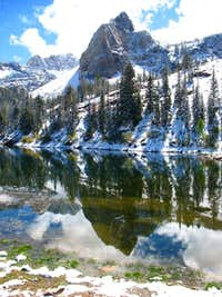 Sundial Peak reflection