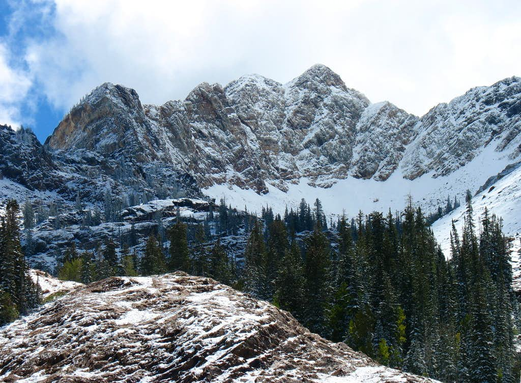 Monte Cristo from Lake Blanche