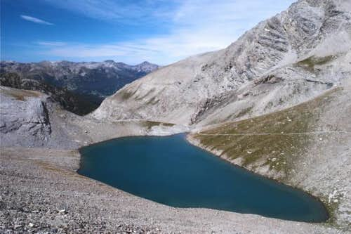 Lac de la Petite Cayolle - above the Lac d\'Allos