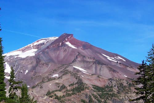 A view of South sister.