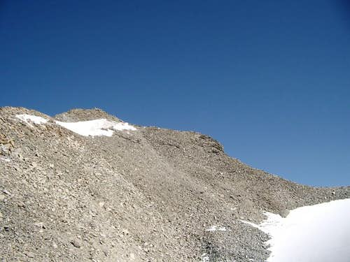 Hohe Geige -  upper section