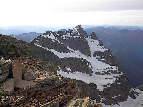 A Peak from the summit of...