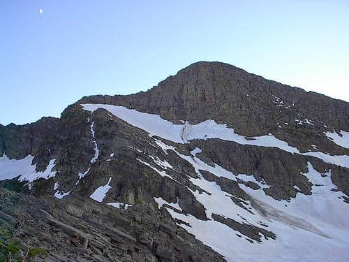 Snowshoe Peak from the...