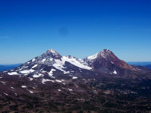 The Middle and North sister.