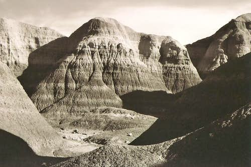 Blue Mesa-area Formations