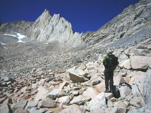 Approach to Peppermint Peak