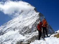 Matterhorn from Hörnli hut