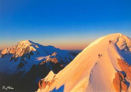 Mont Blanc & Aiguille Verte