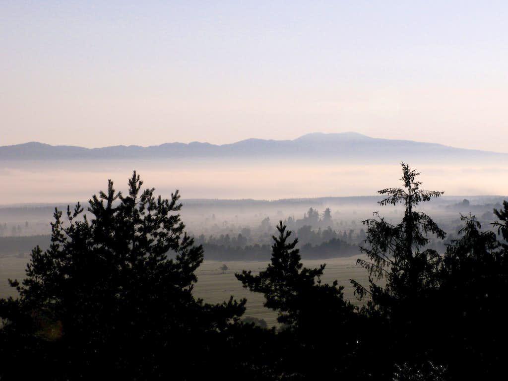 Misty valley...