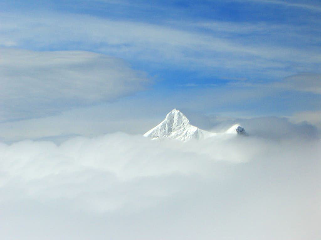 Out of clouds - Gletscherhorn