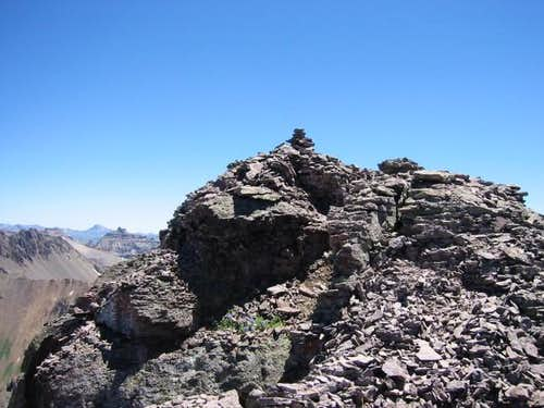 summit of dallas peak,...