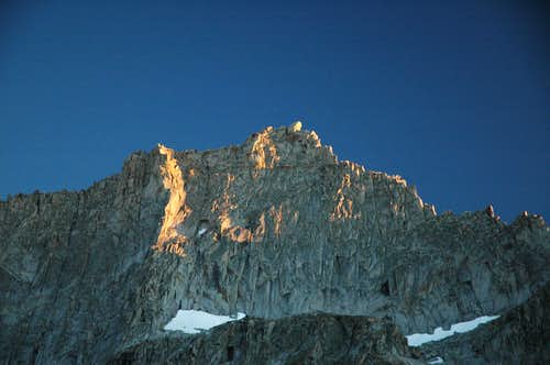 Last Light on Eagle Scout Peak