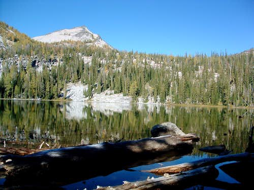 East Camas Peak from Upper Camas Lake