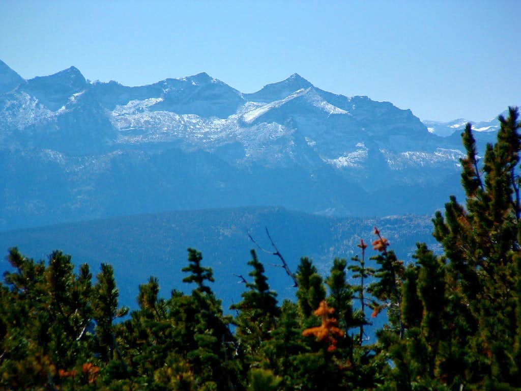 Como Peaks from Ward Summit