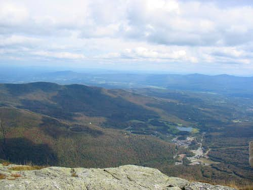 From Mt. Mansfield, VT