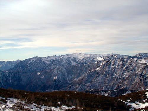 Pasubio group from N