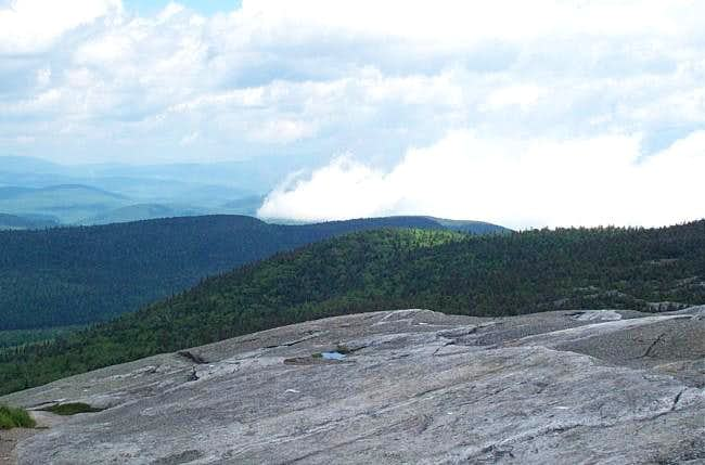 From the summit of Mt....