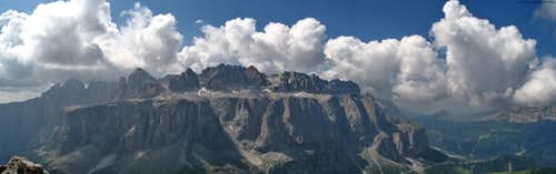 Panorama-Sella group(3152m)