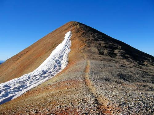 Summit of Redcloud Peak from...