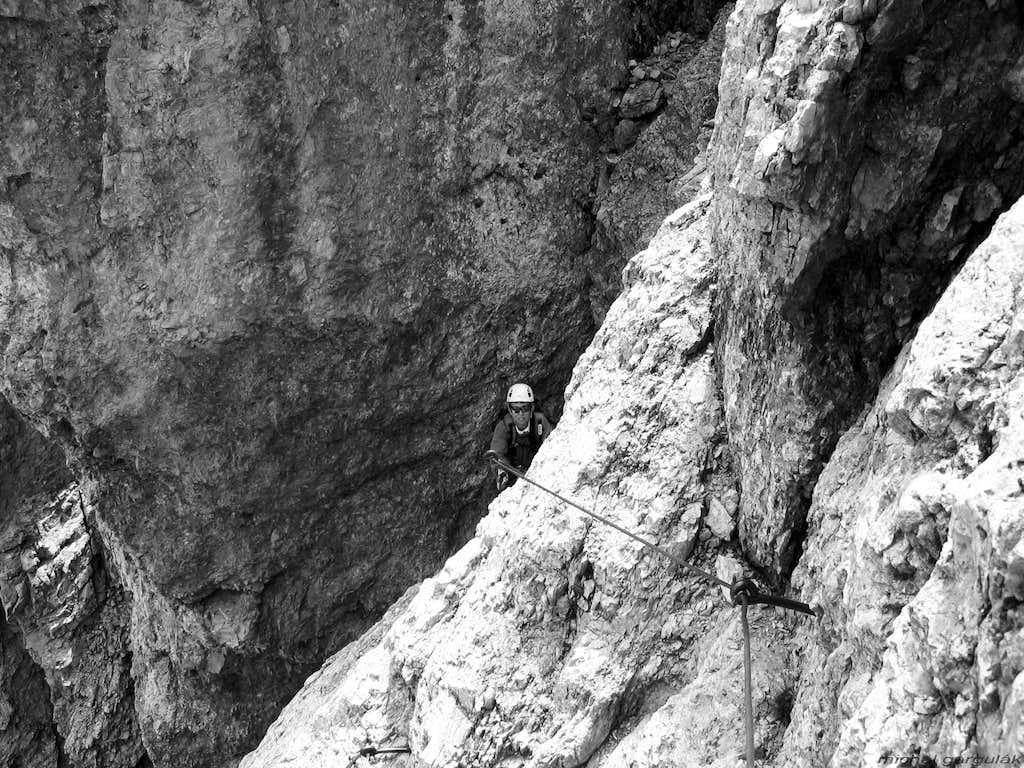 Ferrata to Monte Averau