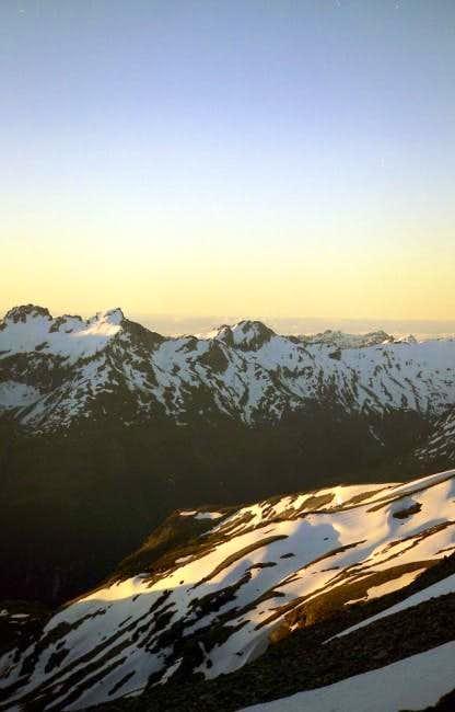 Sunset on Mt.Aspiring...