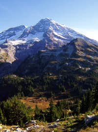 Rainier and Pyramid Peak