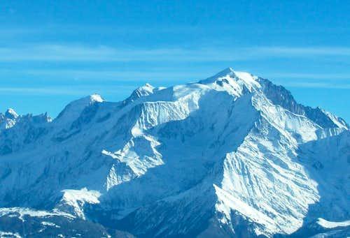 Aravis > view of Mont-Blanc