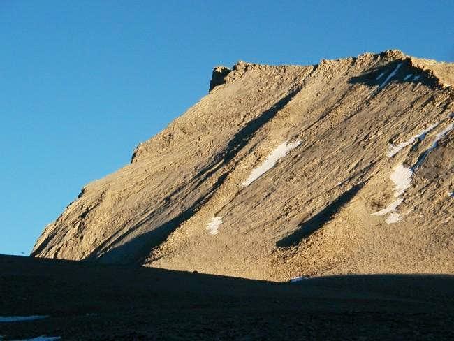 Twilight on Mt Tyndall with...
