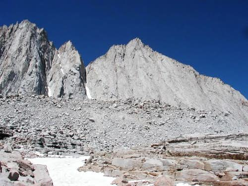 The East Face of Mt Tyndall