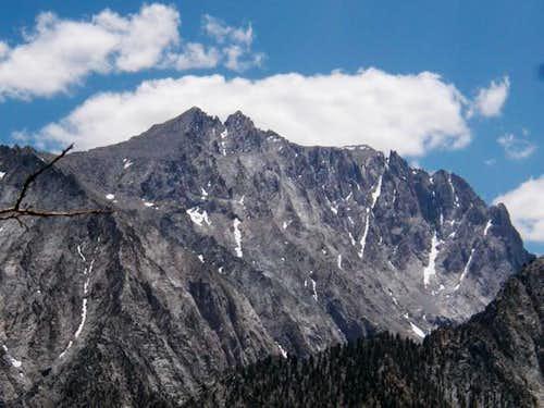 Mt Williamson's North face