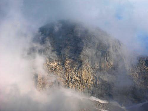 Face of Florence Peak