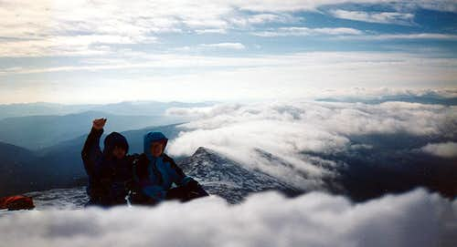 Prelude to Kelso Ridge- First Fourteener, East  vs West