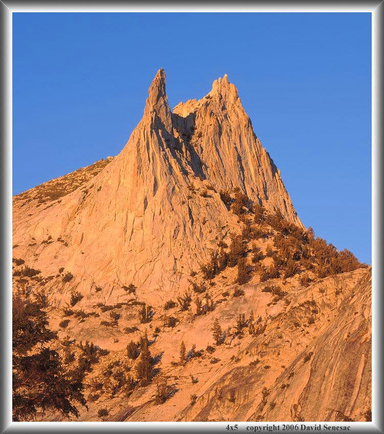 Cathedral Peak summits