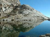The lake at Trail Camp - last...
