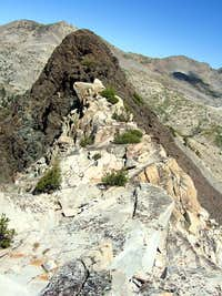 Keyes Peak, Summit Ridge