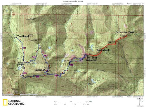 TOPO! map of the route...