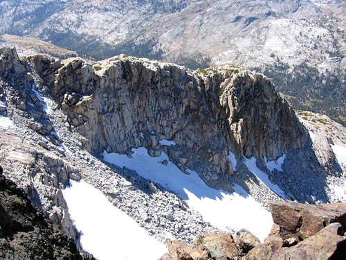 SW Ridge of Keyes Peak