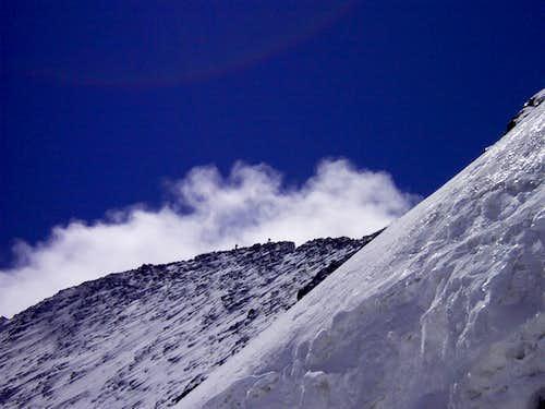 Barre des Écrins summit ridge