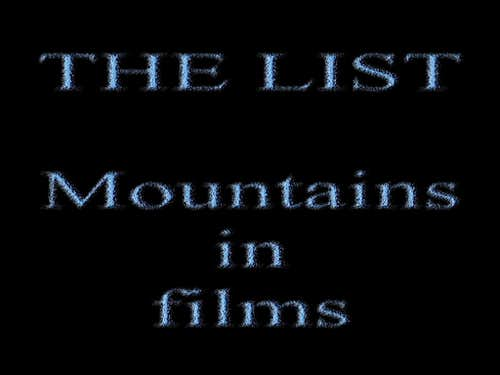 Mountains in films